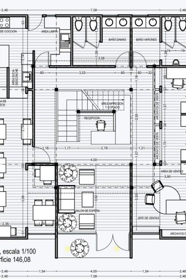 Oficinas de Komatsu de estructuras modulares